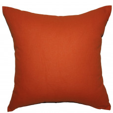 Подушка декоративная Інсайт Панама рыжий 40х40см арт. 719 007 200 104
