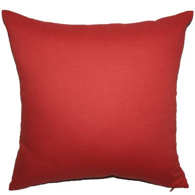 Подушка декоративная Інсайт Панама багряный 40х40см арт. 719 007 252 041