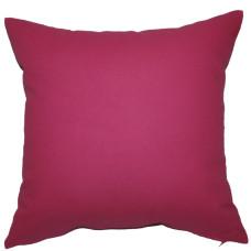 Подушка декоративная Інсайт Панама малиново-пурпурный 40х40см арт. 719 007 252 107