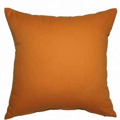 Подушка декоративная Інсайт Панама янтарно-оранжевый 40х40см арт. 719 007 252 112