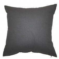 Подушка декоративная Інсайт Панама темно-серый 40х40см арт. 719 007 252 133