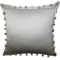 Подушка декоративная Інсайт Зудо серебряный 40х40см арт. 719 008 200 332
